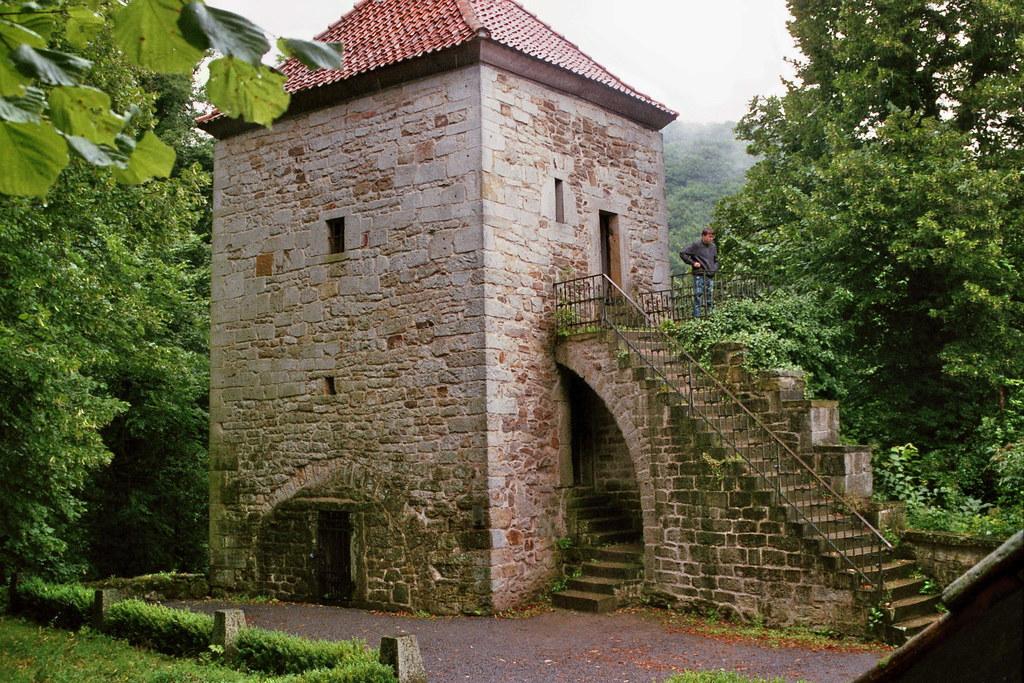 Burg im Weserbergland